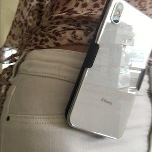 Accessories - Iphone X encased clip belt